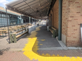 City Market, Spillover seating for Pigwich?