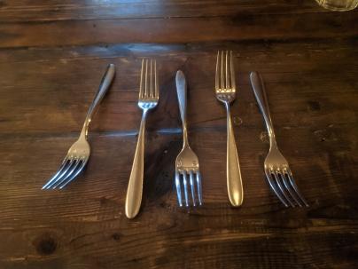 Estelle, Cutlery
