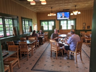 Gates Bar-B-Q, And another dining room