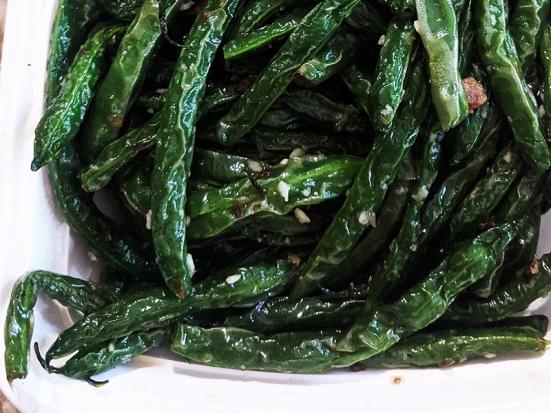 Grand Szechuan, Beans, close-up