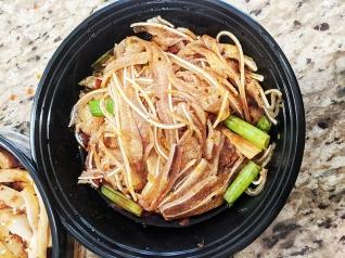 Grand Szechuan, Pork Ears in Chilli Sauce