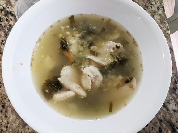 Grand Szechuan, Soup, poured