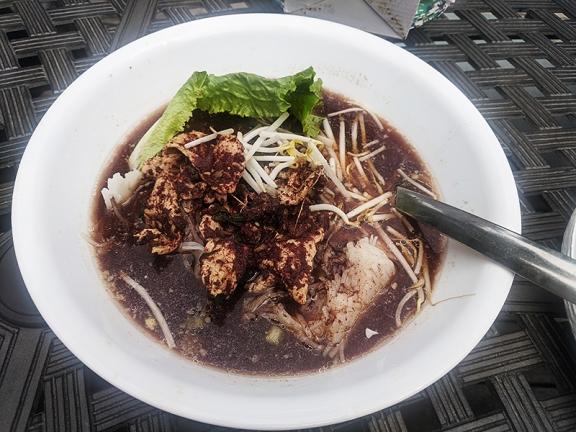 Krungthep Thai, Boat Noodles, served