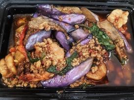 Krungthep Thai, Stir-fried Chinese Eggplant