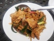 Krungthep Thai, Stir-Fried Ginger with pork, reheated