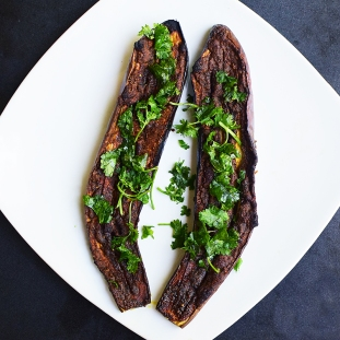 Spice-Crusted Baked Eggplant