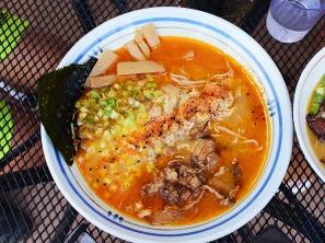 Strings Ramen, Miso Ramen, Spicy Crab