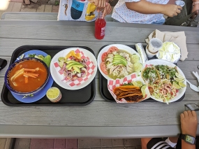 Taco N Madre, Lunch