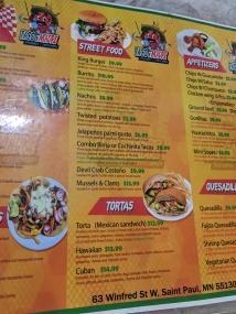 Taco N Madre, Menu, Street Food, Tortas