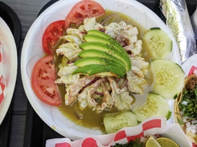 Taco N Madre, Shrimp Aguachile