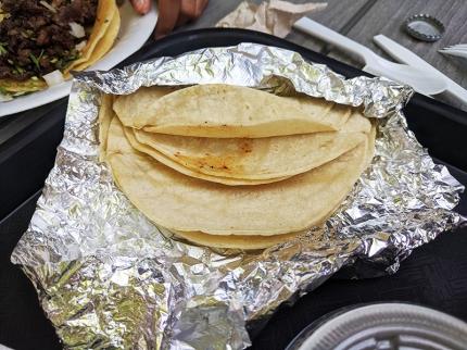 Taco N Madre, Tortillas