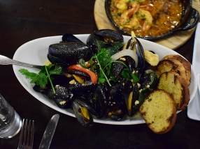 Voltaire, PEI Mussels