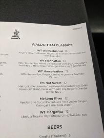 Waldo Thai, Menu, Waldo Thai Classics
