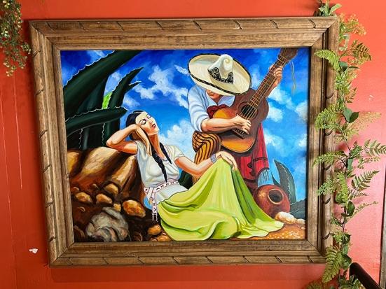 El Burrito Mercado, Art