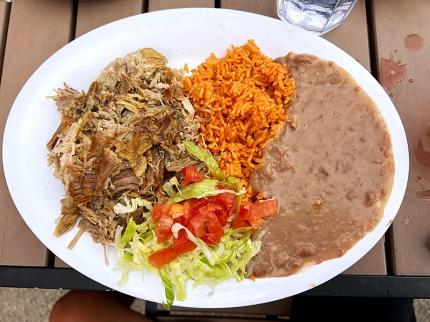 El Burrito Mercado, Carnitas
