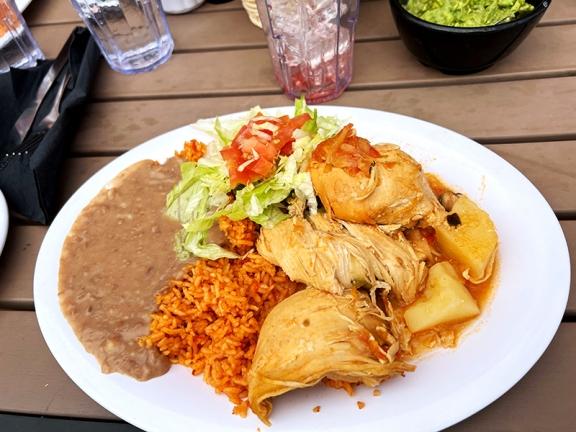 El Burrito Mercado, Chicken Fiesta