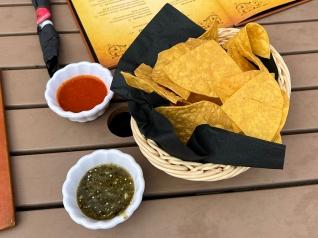 El Burrito Mercado, Chips and Salsa