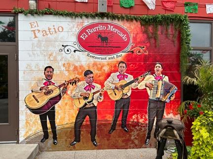 El Burrito Mercado, El Patio