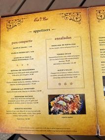 El Burrito Mercado, Menu, Appetizers