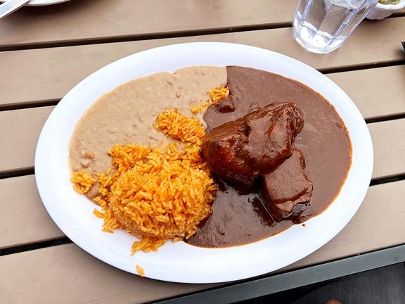 El Burrito Mercado, Mole Poblano