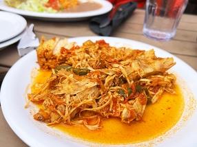 El Burrito Mercado, Pollo a la Mexicana