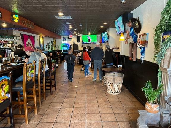 El Burrito Mercado, Small dining room