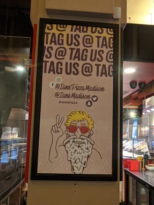 Ian's Pizza, Tag Us