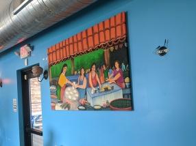 Mañana, Dining room decor