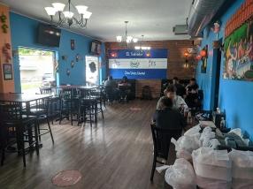Mañana, Main dining room