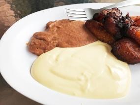 Mañana, Refried Beans, Sour Cream