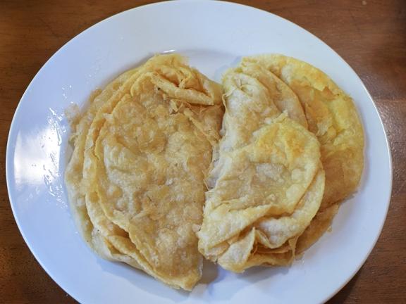 Original Mediterranean Grill, Reheated puris