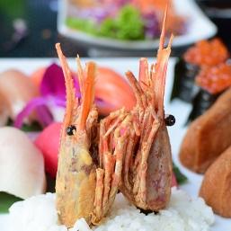 Saji-Ya, Shrimp heads