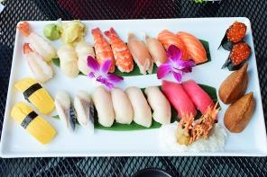 Saji-Ya, Sushi