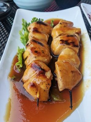 Saji-Ya, Teriyaki Chicken Skewers