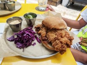 Settle Down, Carolina Chicken Sandwich