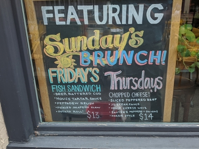 Settle Down, Daily Specials