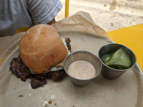 Settle Down, Good Idea Beef Burger