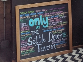 Settle Down, Only At The Settle Down Tavern