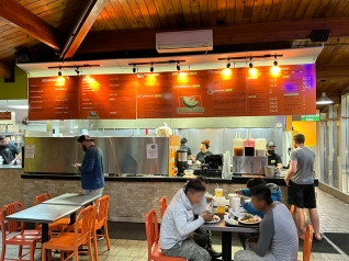 Andale, Interior, Counter
