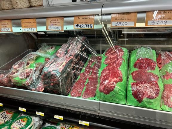 El Burrito Mercado, Beef