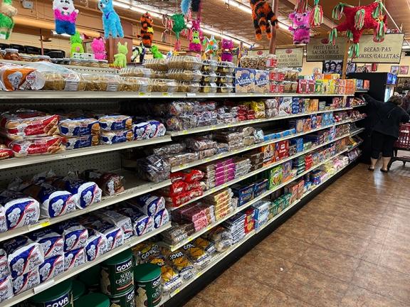 El Burrito Mercado, Bread etc