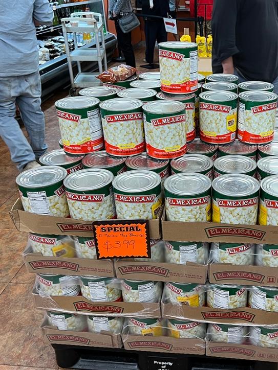 El Burrito Mercado, Maiz Blanco