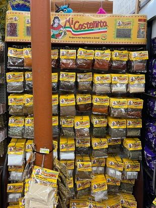El Burrito Mercado, More spices
