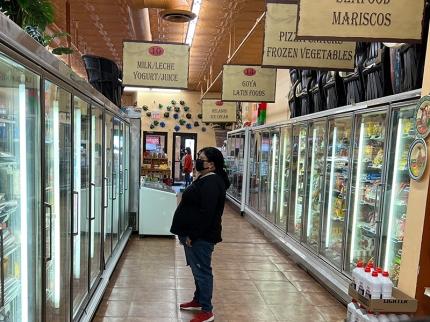 El Burrito Mercado, Refrigerated and Frozen Foods