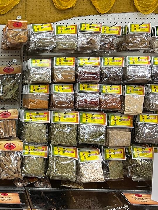El Burrito Mercado, Spices, Dried Herbs