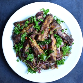 Masala-Fried Spare Ribs-top