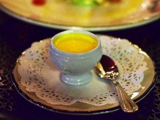 Meritage, Billi Bi Saffron-Mussel Soup