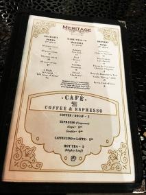 Meritage, Dessert Wines, Coffee