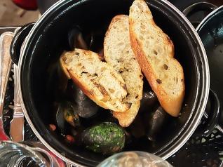 Meritage, Mussels